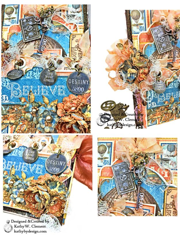 Graphic 45 Imagine Steampunk Tag Folio by Kathy Clement for the Funkie Junkie Boutique Photo 03