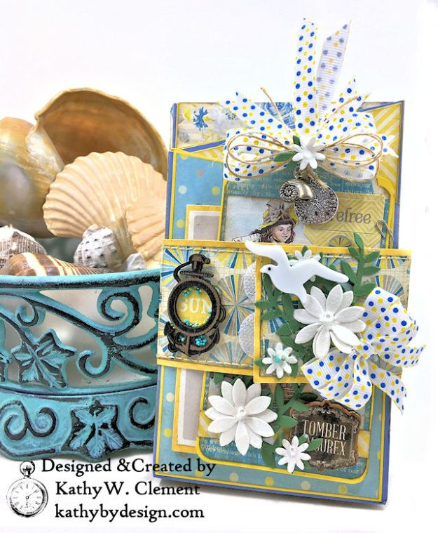 Authentique Felicity Zig Zag Folio Tutorial by Kathy Clement Photo 01