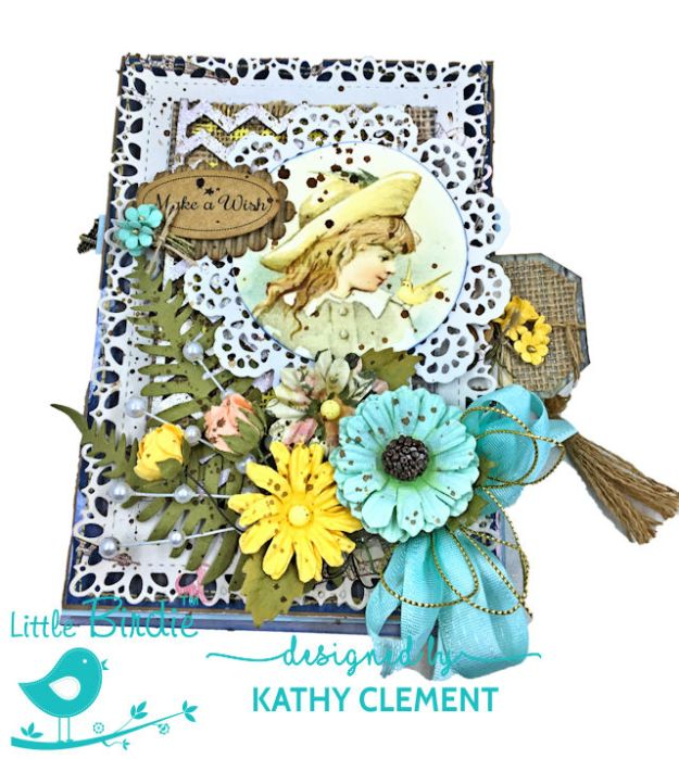 Little Birdie Crafts Sweet as Honey Summertime Card Tutorial by Kathy Clement Photo 02