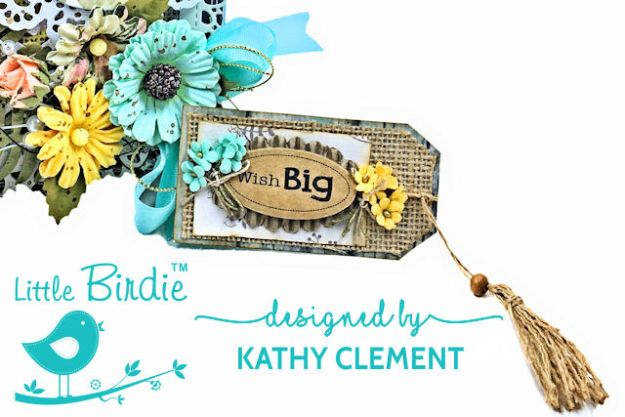 Little Birdie Crafts Sweet as Honey Summertime Card Tutorial by Kathy Clement Photo 03