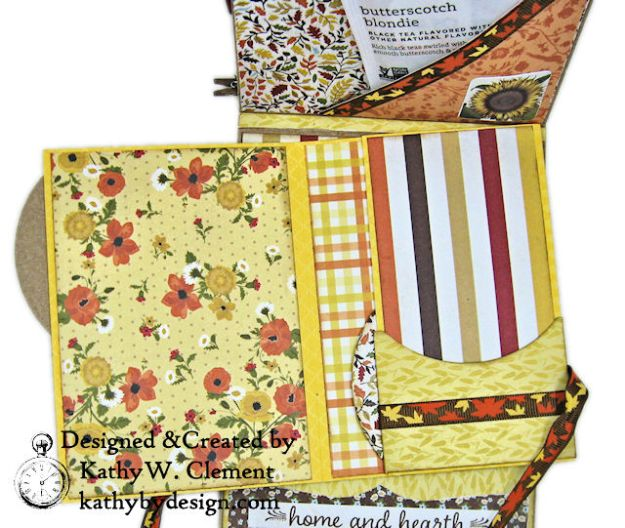 Apple Picking Birthday Card Folio Pleasant by Kathy Clement for Really Reasonable Ribbon Product by Authentique Photo 07