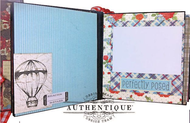 Authentique Paper Goes Back to School Accolade Mini Album by Kathy Clement Photo 07
