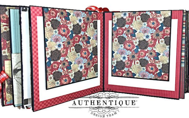 Authentique Paper Goes Back to School Accolade Mini Album by Kathy Clement Photo 09