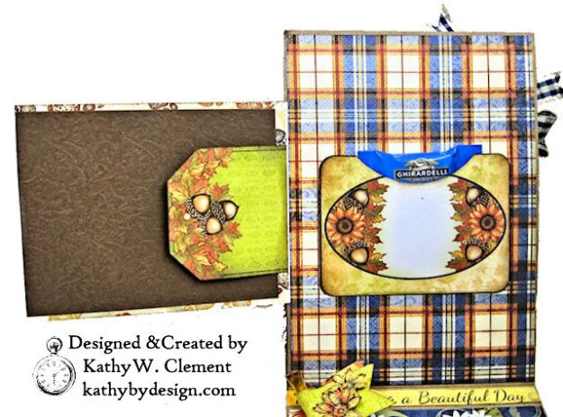 Heartfelt Creations Rustic Sunflowers Card Folio Beary Fun Retreat by Kathy Clement Photo 06