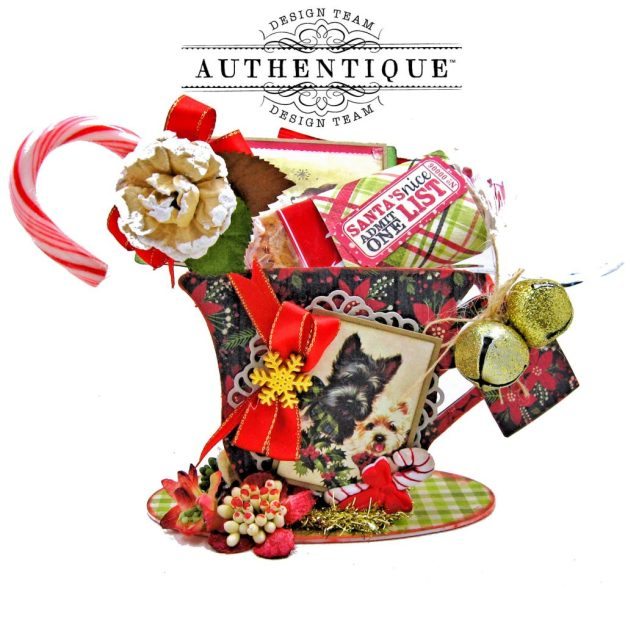 Authentique Nostalgia Christmas Teacups by Kathy Clement Photo 04