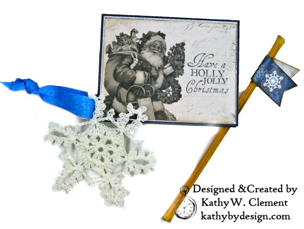 Winter Blues Christmas Folio Kaisercraft Frosted by Kathy Clement for Really Reasonable Ribbon Photo 09