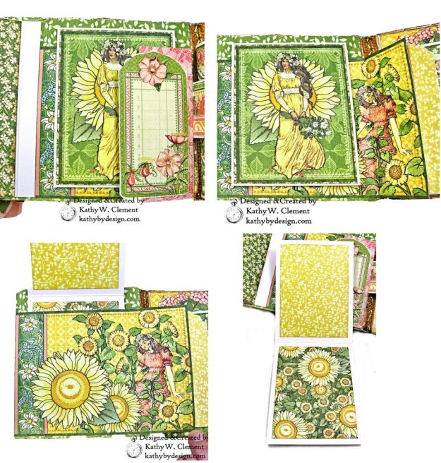 Glorious Graphic 45 Garden Goddess Shine Card Folio by Kathy Clement for The Funkie Junkie Boutique Photo 03