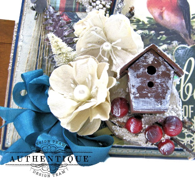 Authentique Solitude Waterfall Folio Tutorial by Kathy Clement Photo 05