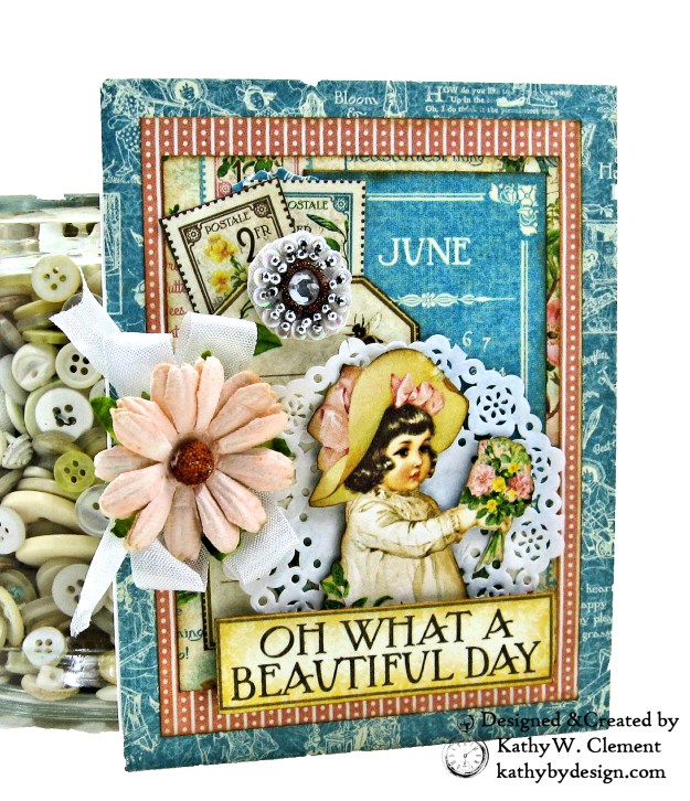 Graphic 45 Children's Hour Stack of Card by Kathy Clement Kathy by Design Photo 07
