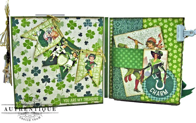 Authentique Clover Folio Tutorial Kathy Clement
