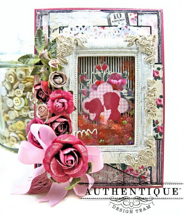 Authentique Romance Shaker Valentine Tutorial by Kathy Clement Kathy by Design Photo 02