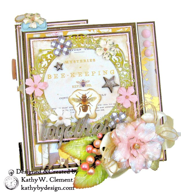 Prima Spring Farmhouse Folio Tutorial Kathy Clement Kathy by Design