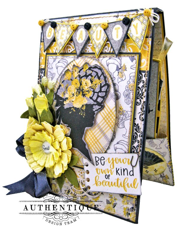 Authentique Beautiful Poised Card Folio Tutorial by Kathy Clement Kathy by Design Photo 05