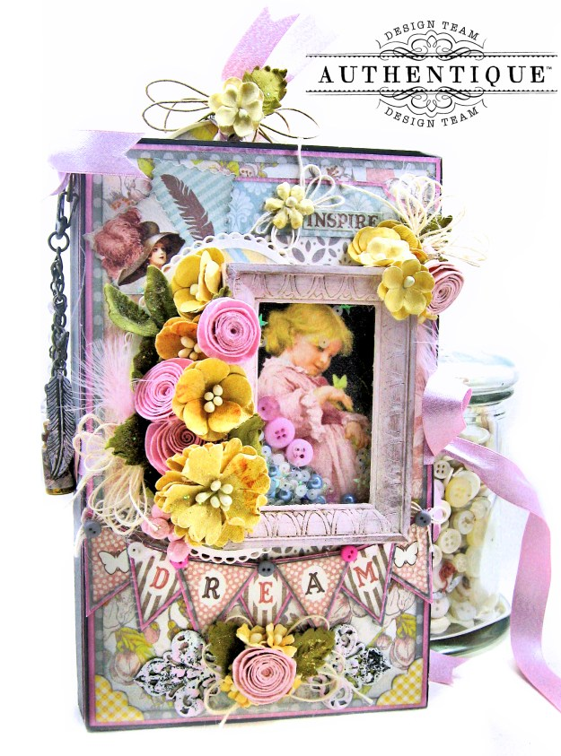 Authentique Dreamy Folio Tutorial Kathy Clement Kathy by Design Photo 02