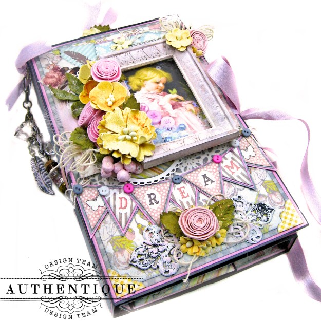 Authentique Dreamy Folio Tutorial Kathy Clement Kathy by Design Photo 03