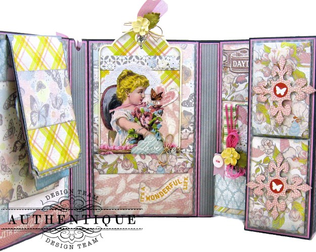 Authentique Dreamy Folio Tutorial Kathy Clement Kathy by Design Photo 06
