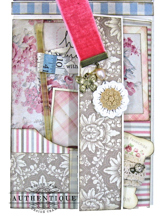 Authentique Stitches Mother's Day Sewing Card Folio Kathy Clement Kathy by Design Photo 06