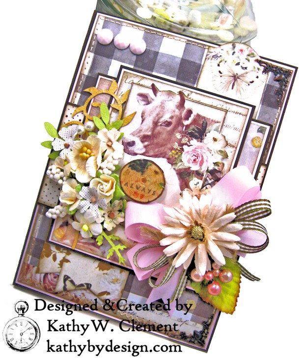 Prima Spring Farmhouse Get Well Card by Kathy Clement Kathy by Design Photo 03