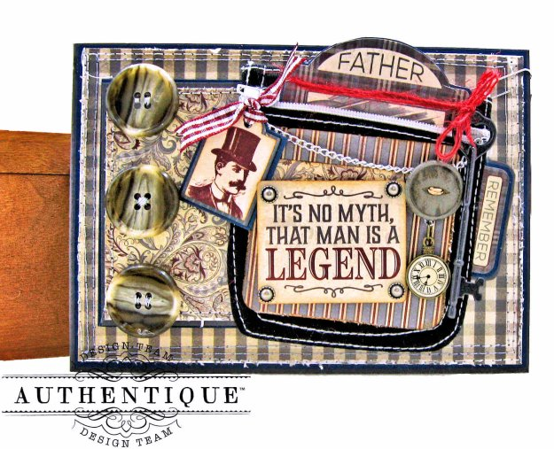 Authentique Mister Pocket Card by Kathy Clement Kathy by Design Photo 01