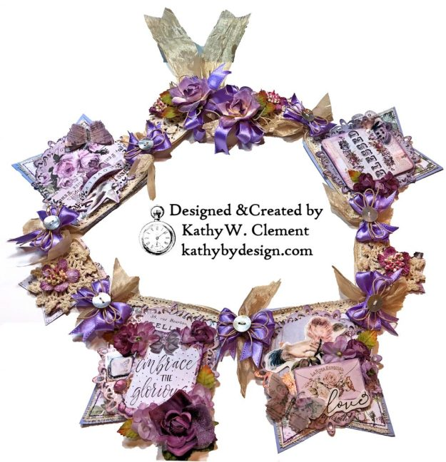 Prima Lavender Lilac Season Banner by Kathy Clement Kathy by Design Photo 01