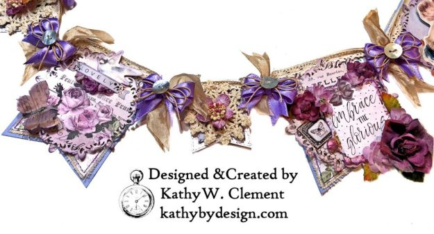 Prima Lavender Lilac Season Banner by Kathy Clement Kathy by Design Photo 05