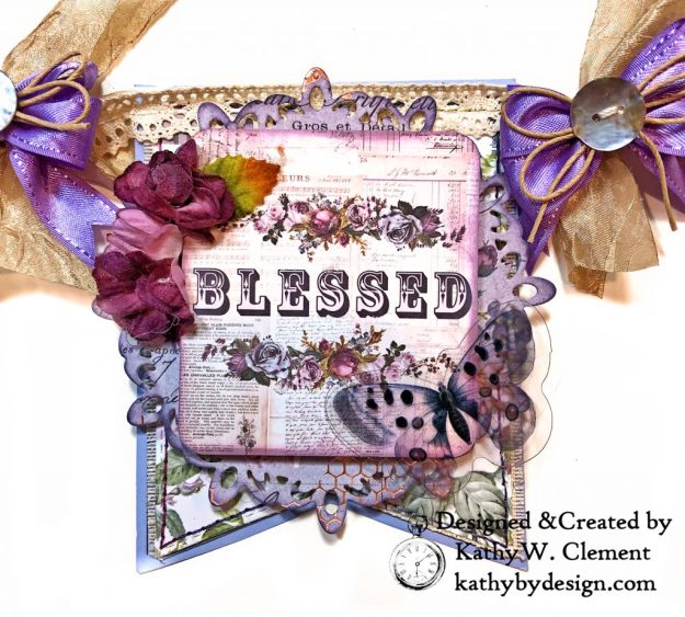 Prima Lavender Lilac Season Banner by Kathy Clement Kathy by Design Photo 08