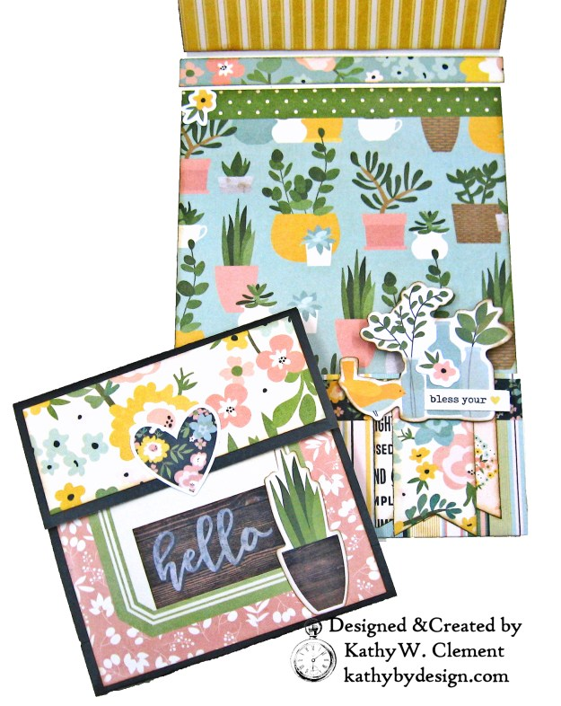 Simple Stories Spring Farmhouse Simply Blessed Card Folio by Kathy Clement Kathy by Design Photo 06
