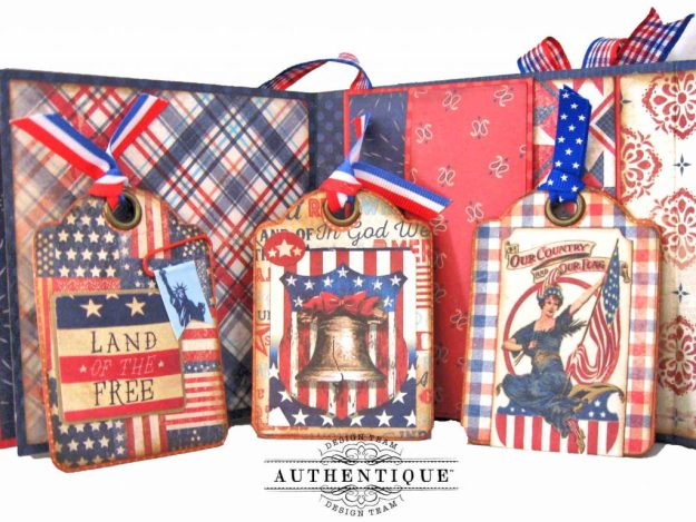Authentique Liberty Waterfall Mini Tutorial by Kathy Clement Kathy by Design Photo 10