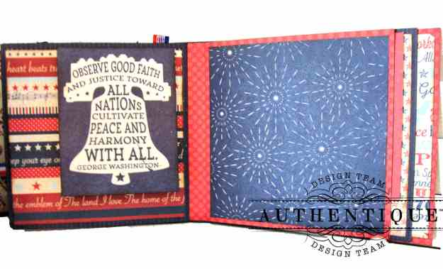Authentique Liberty Waterfall Mini Tutorial by Kathy Clement Kathy by Design Photo 08