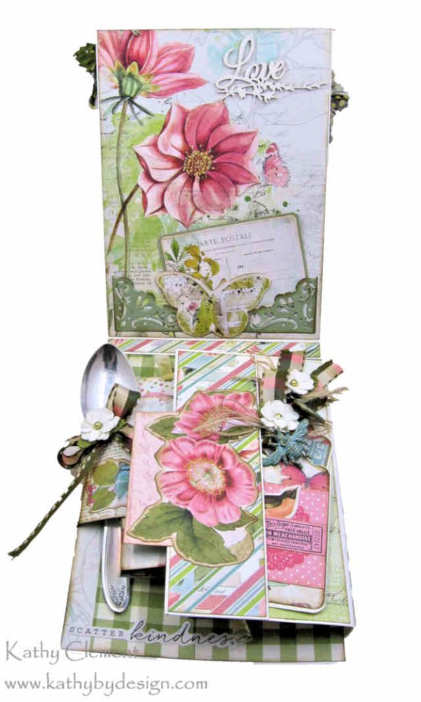 Morning Meadow Mixed Media Card Folio Simple Stories Simple Vintage Botanicals by Kathy Clement Kathy by Design Photo 05