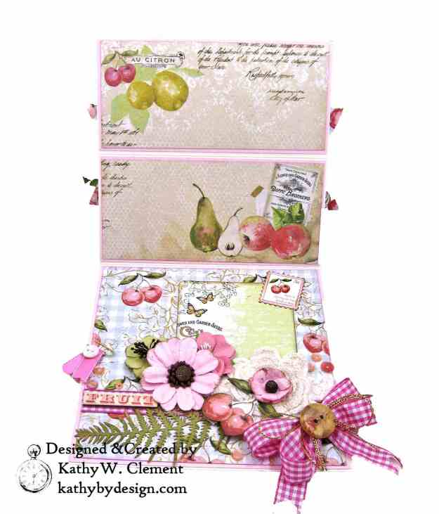 Prima Fruit Paradise Shaker Card by Kathy Clement for Really Reasonable Ribbon Photo 5