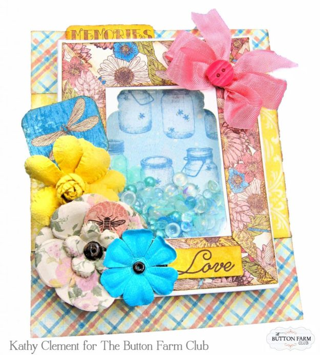 Authentique Endless Summer Card Kit for The Button Farm Club by Kathy Clement Kathy by Design Photo 04
