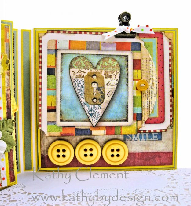 Stamperia Patchwork Tea Folio by Kathy Clement for Really Reasonable Ribbon Photo 10