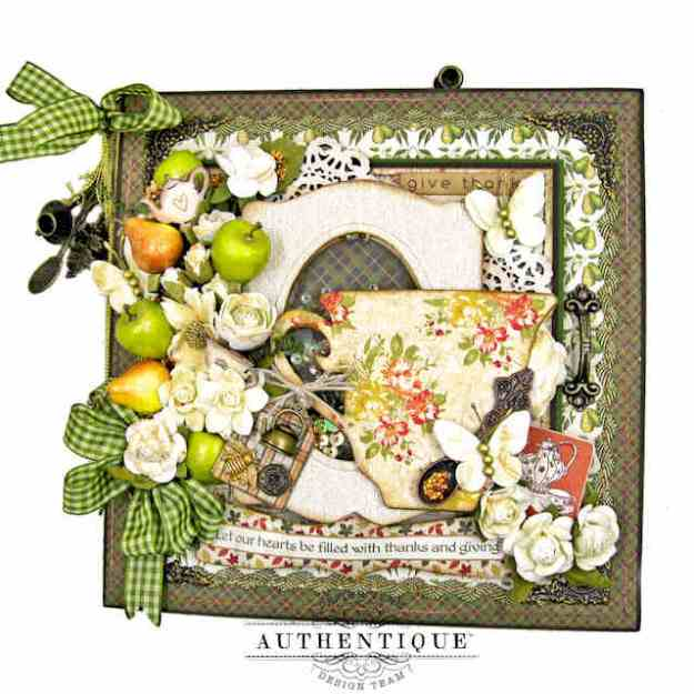 Cup of Gratitude Folio Tutorial with Authentique Gracious and Eileen Hull Dies by Kathy Clement Kathy by Design Photo 01