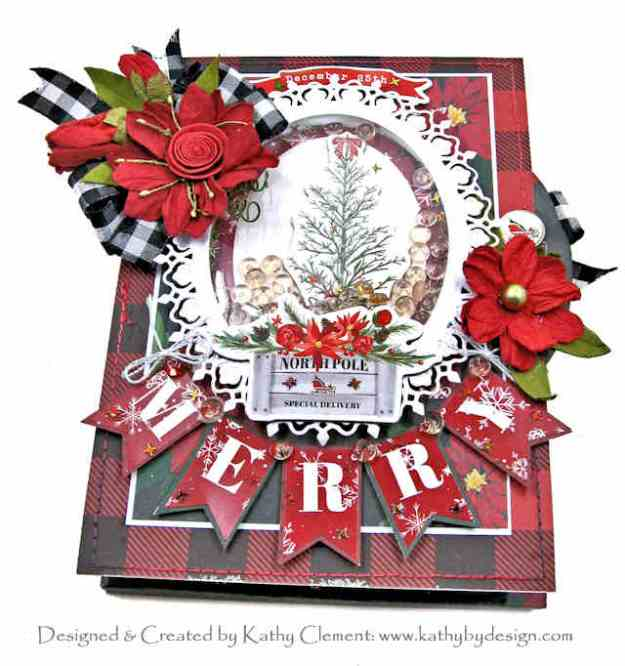 Carta Bella Christmas Market Shaker Card Folio by Kathy Clement Kathy by Design Photo 01