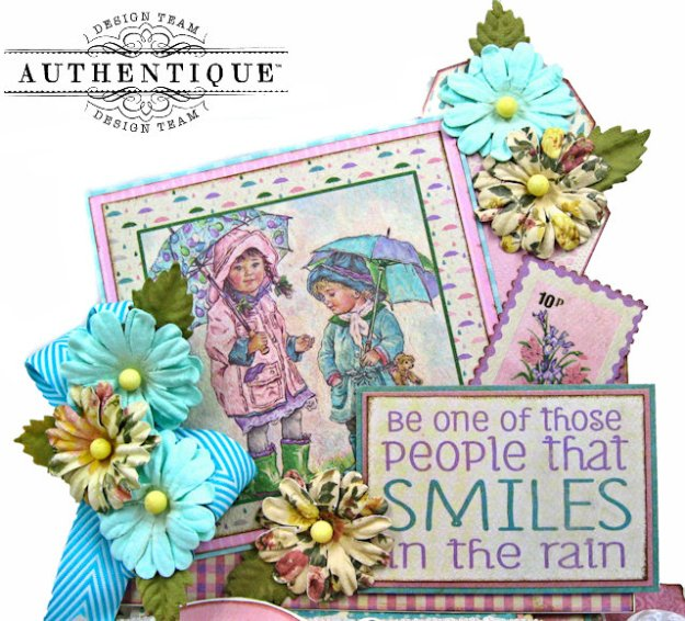 Authentique April Calendar Collection Desk Calendar by Kathy Clement Kathy by Design Photo 01
