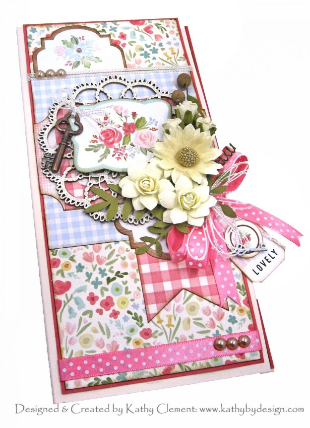 Carta Bella Farmhouse Market Tall and Skinny Card by Kathy Clement Kathy by Design Photo 01