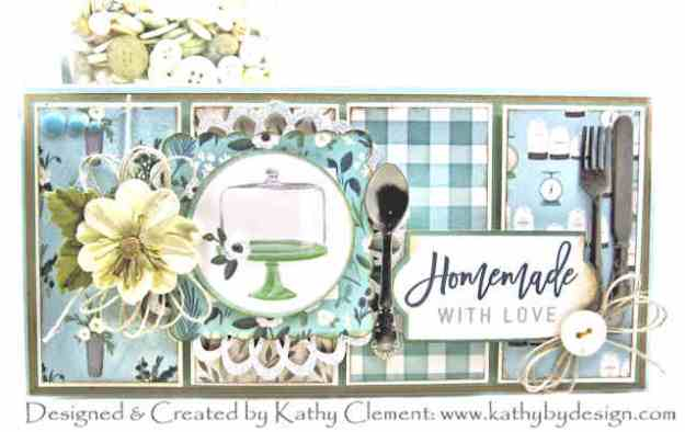Carta Bella Home Again Long and Skinny Birthday Card by Kathy Clement Kathy by Design Photo 01
