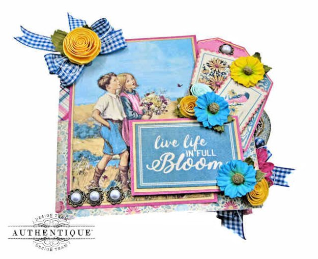 Authentique May Desk Calendar Tutorial by Kathy Clement Kathy by Design Photo 01