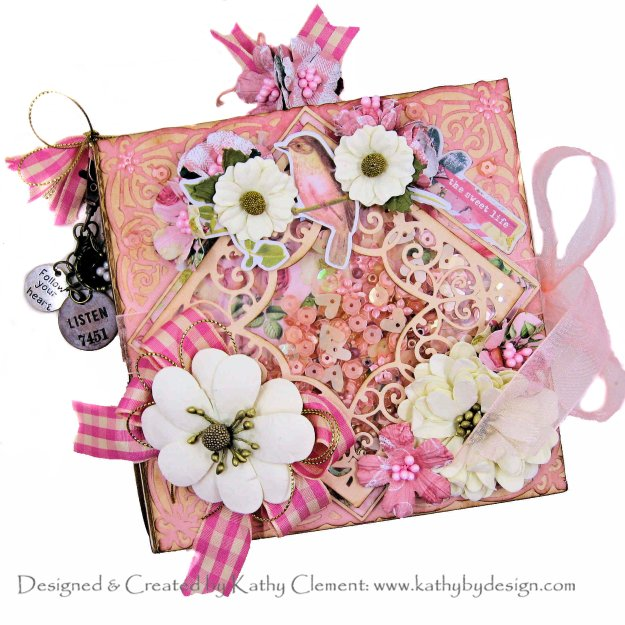 Simple Stories Simple Vintage Garden District Mini Album with Spellbinders Amazing Paper Grace DOM May 2020 by Kathy Clement Kathy by Design Photo 01