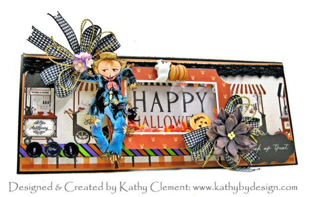 Carta Bella Halloween Market Slimline Shaker Treat Card by Kathy Clement Kathy by Design Photo 01