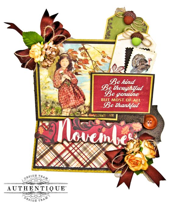 Authentique November Desk Calendar Tutorial by Kathy Clement Kathy by Design Photo 01