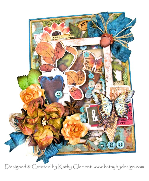 Simple Stories Autumn Splendor Shaker Card by Kathy Clement Kathy by Design Photo 01
