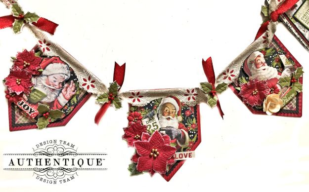 Authentique Magical Christmas Banner by Kathy Clement Kathy by Design Photo 01