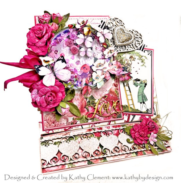 Throwback Thursday Authentique Adore Butterfly Kisses with Reneabouquets Beautiful Board by Kathy Clement Photo 01