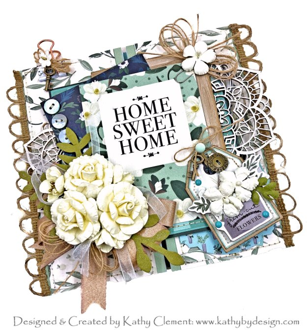 Throwback Thursday Home Again Card Folio Tutorial by Kathy Clement Kathy by Design Photo 01