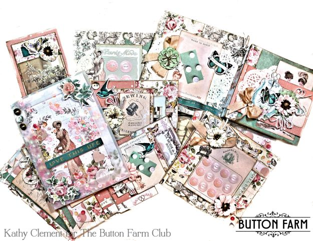 Button Farm Club Prima My Sweet Card Kit Reveal by Kathy Clement Photo 01