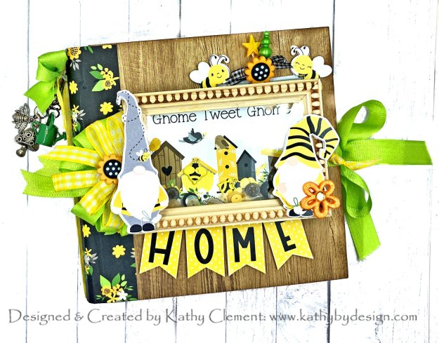 PhotoPlay Tulla and Norbert Sweet as Honey Mini Album by Kathy Clement Photo 01