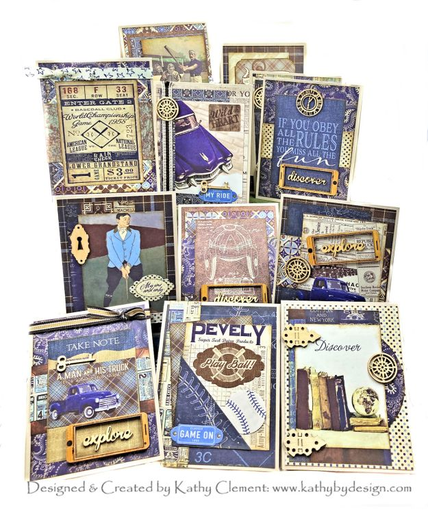 Authentique Rugged Masculine Card Stack Tutorial by Kathy Clement Photo 01
