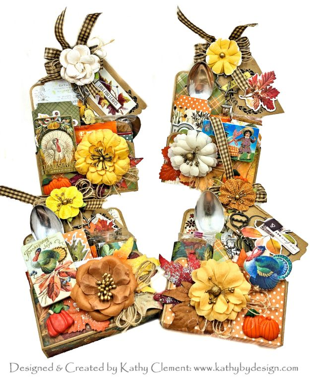 Thanksgiving Treat Tags Tutorial Simple Stories Autumn Splendor by Kathy Clement PHoto 01